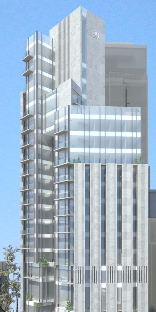 Amazing Tower of 27 floors at Hessah al-Mubarak New District